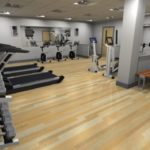 New Gym in Office Block by Damien Henderson