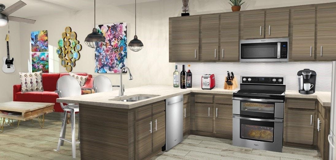 Open Kitchen by Teresa Gray-Benfield